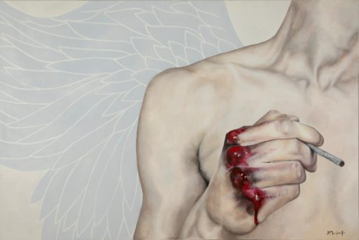christina-michalopoulou-angel-1-theartspace