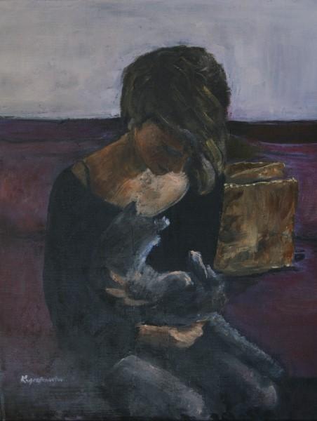 Το κορίτσι με τη γάτα